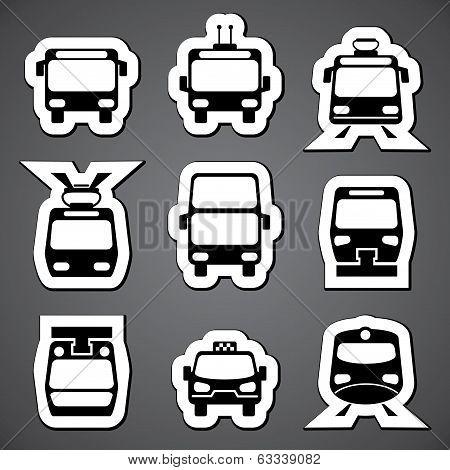 Public transport label