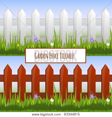Garden Fence Tileable