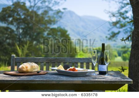 Alfresco Wine And Cheese