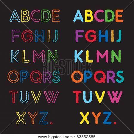 capital alphabets