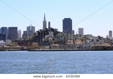 View Of Downtown San Francisco From The Bay