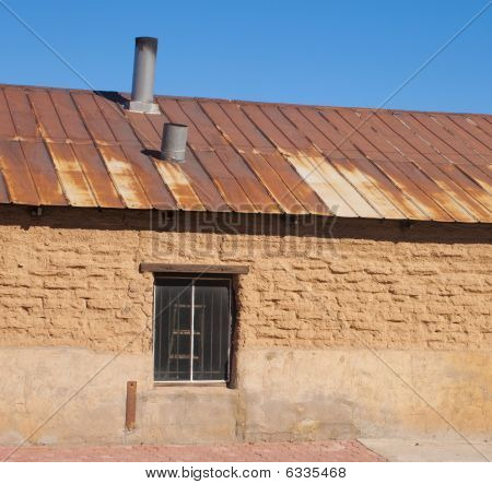 Grunge Building In The Southwest