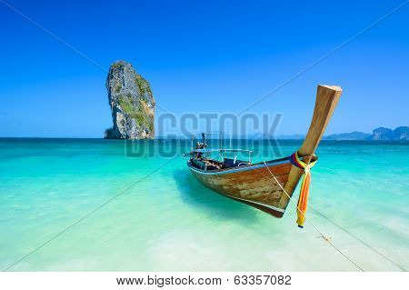 Amazing beach landscape in Thailand