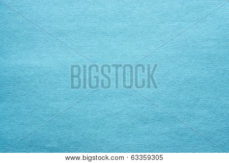 Cardboard And Paper Of Turquoise Color