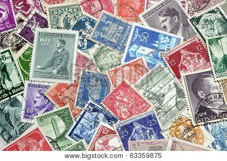 Third Reich postage stamps