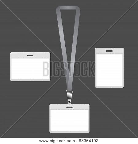 Lanyard badges