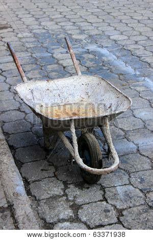 Wheelbarrow on the Street