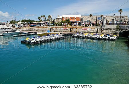 Boats And Jet Skis Parking