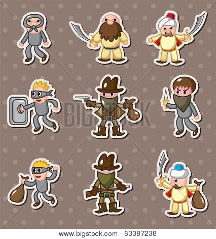 Thief Stickers