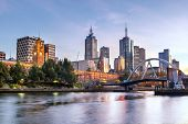 image of early morning  - Melbourne - JPG