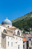 Dubrovnik Dome And Green Hill