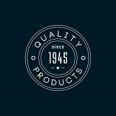 Quality products minimal label