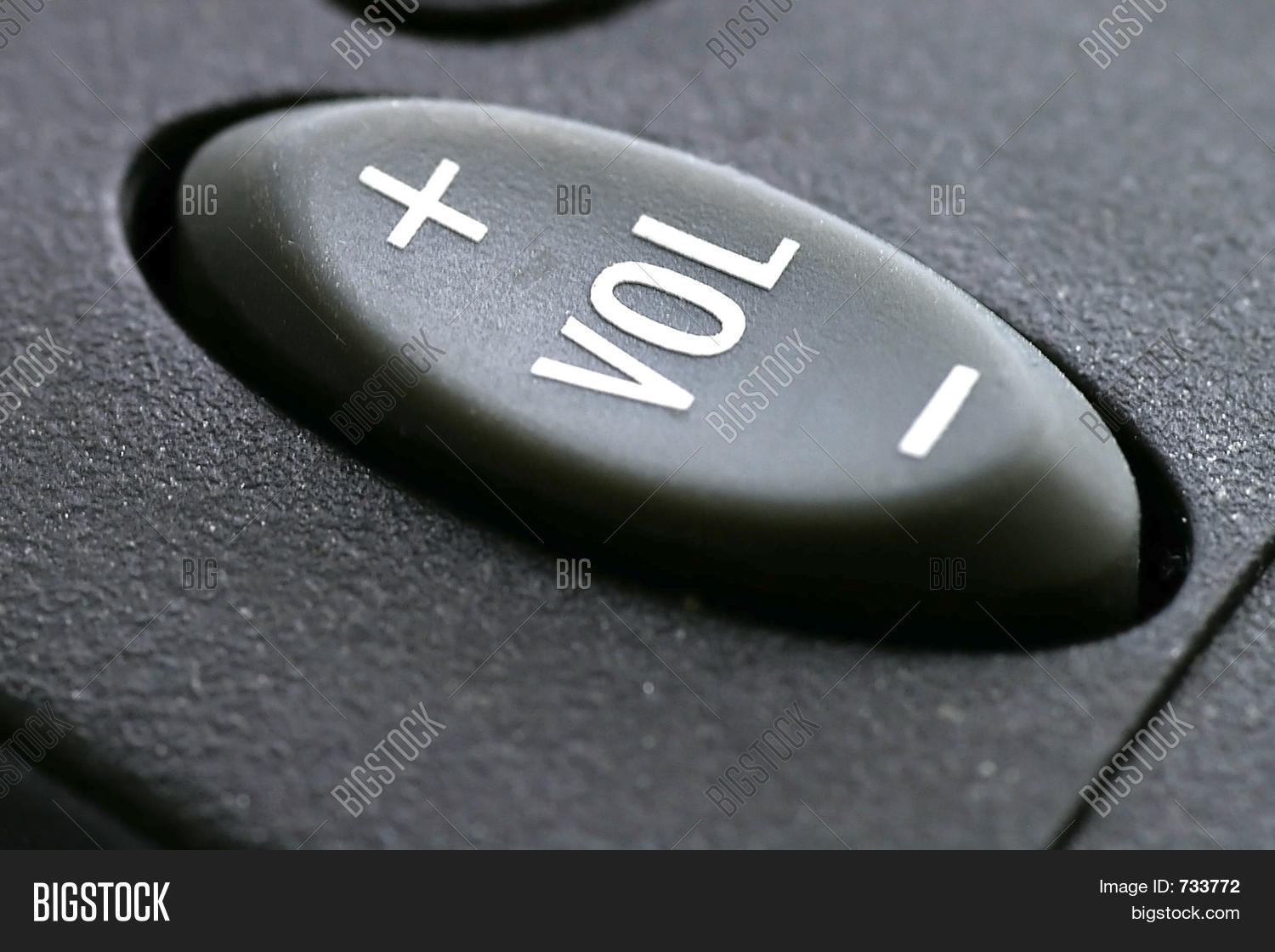 Remote Volume Control : Remote control volume button image photo bigstock