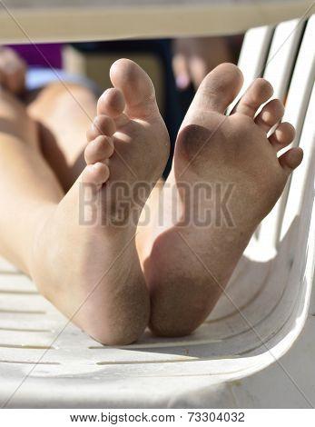Dirty Feet.