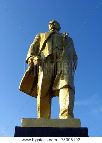Big Monument To Lenin