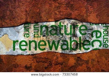 Nature Renewable Concept