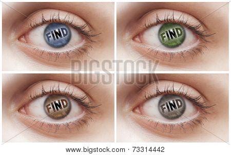 Find Eyes