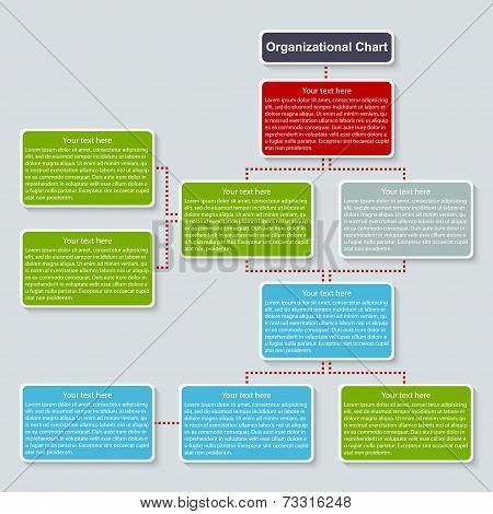 Organization Chart Template.