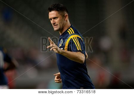 CARSON, CA - OCT 4: Los Angeles Galaxy forward Robbie Keane during the Los Angeles Galaxy MLS game against Toronto FC on Oct 4th, 2014 at the StubHub Center.