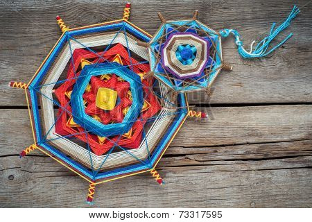 Knitted Mandala