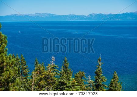 Lake Tahoe Summer Panorama