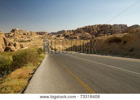 Road From Petra, Jordan