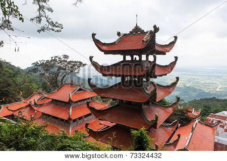 Pagoda In Vietnam.