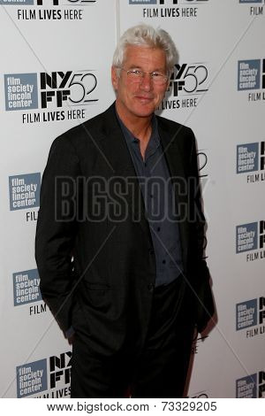 NEW YORK-OCT 5: Actor Richard Gere attends the premiere of