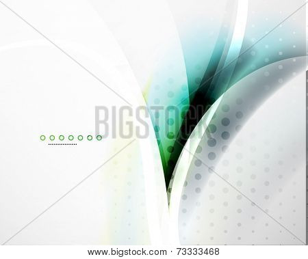 Business flowing wave corporate abstract background, flyer, brochure design template