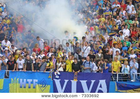 Ukraine ultra supporters
