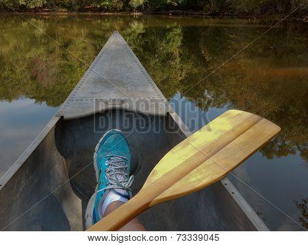 Drifting Canoe