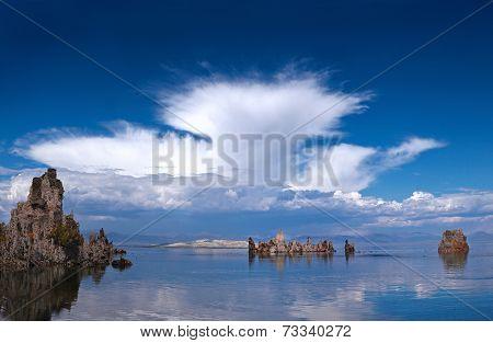 Mono lake tufas