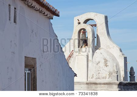Bell Tower Of Marvao, Portugal
