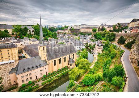 Neumuenster Abbey In Luxemboug City