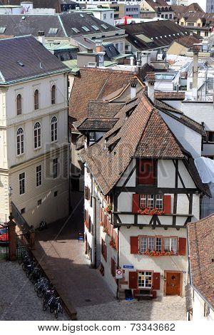 View of Basel, Switzerland