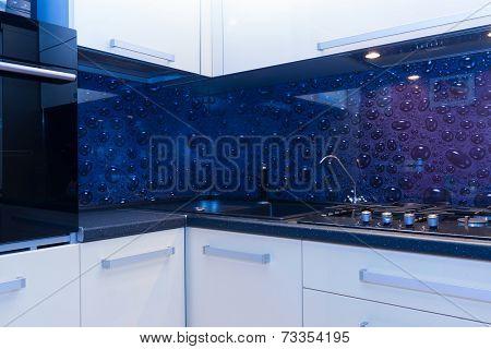 vew of modern kitchen