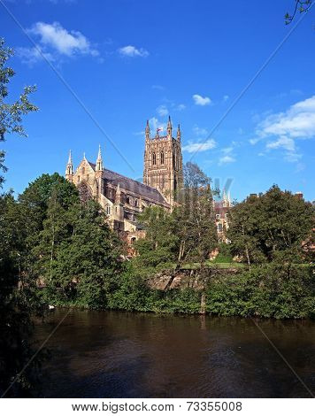 Cathedral, Worcester.