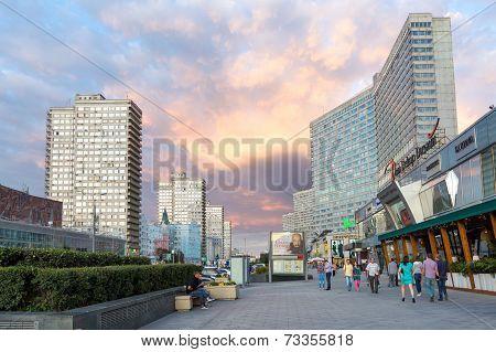 New Arbat Avenue. Moscow. Russia