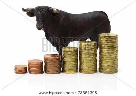 Bull Market On Stock Exchange