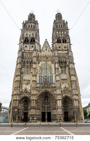 Cathedral Saint Gatianus In Tours