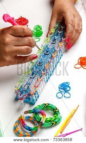 Rubber Loom Bracelet