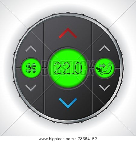 Air Condition Gauge With Triple Lcd