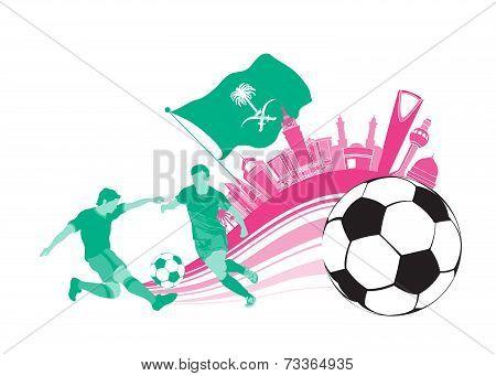 Saudi Arabia Football Soccer City