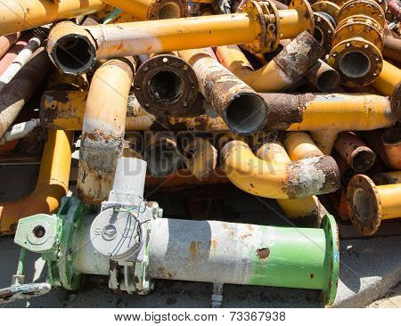 Rusted Exhaust Pipes