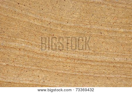 Plate From Sandstone Closeup