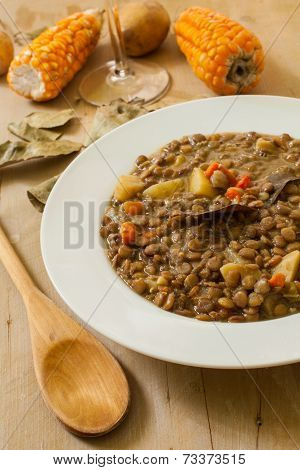 Lentil And Vegetables