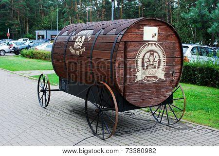 Juozo Bravoras Barrel For Kvass