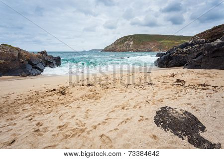 Portheras Cove Cornwall England