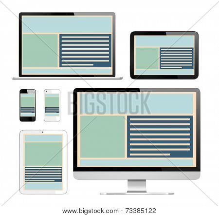 Three Dimensional Images of Digital Devices