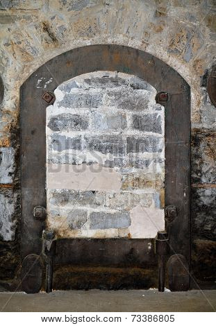 Bricked-up Door